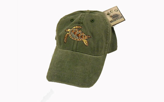 a0c536e26bee7 Green Sea Turtle Baseball Cap – Sea Turtle Conservancy