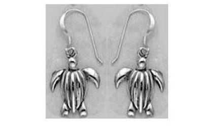 Leatherback Sea Turtle Dangle Earrings